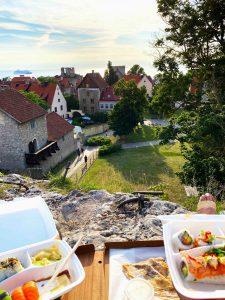 Kyrkberget Klinten - Visbys bästa utsiktsplats